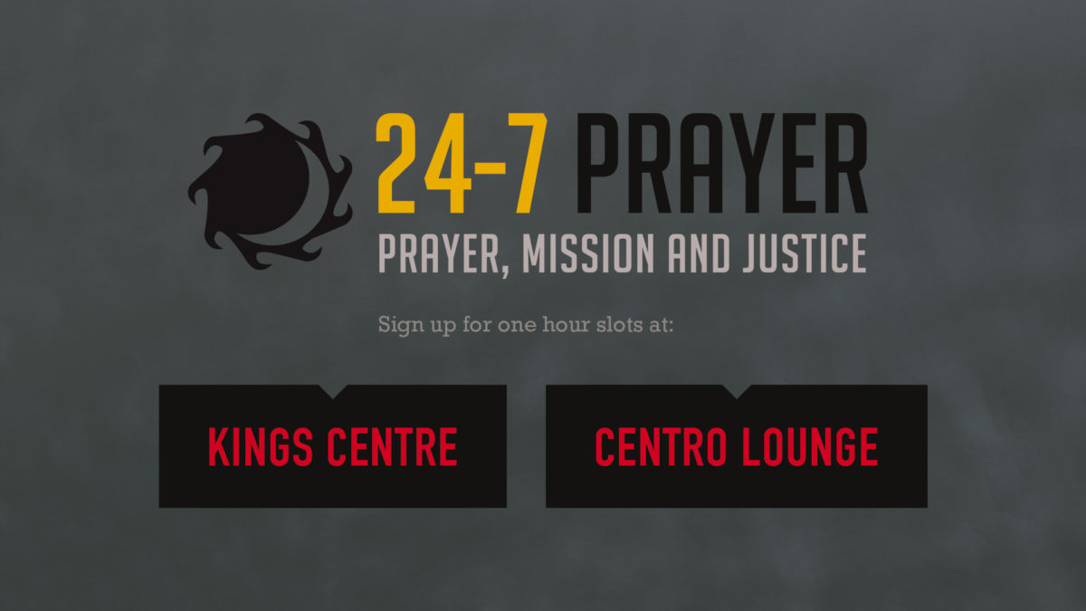 24-7 Prayer: Sign up