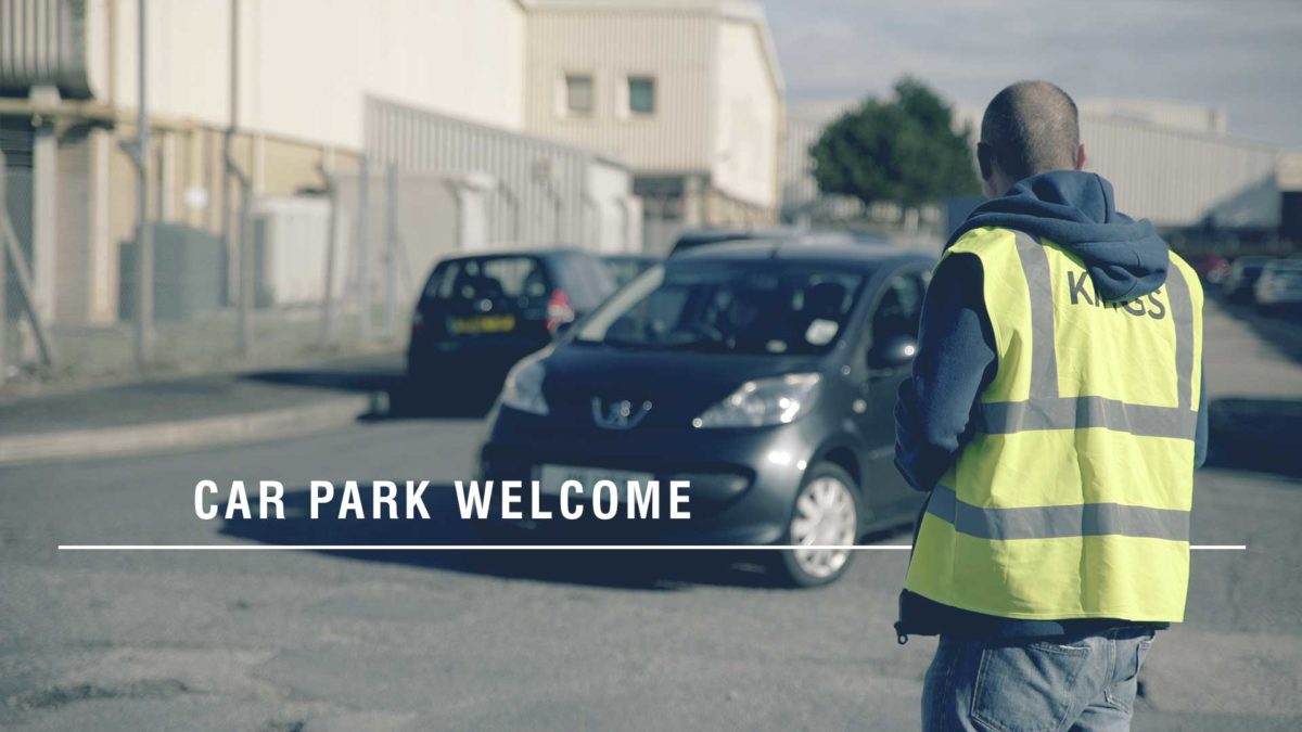 Car Park Welcome