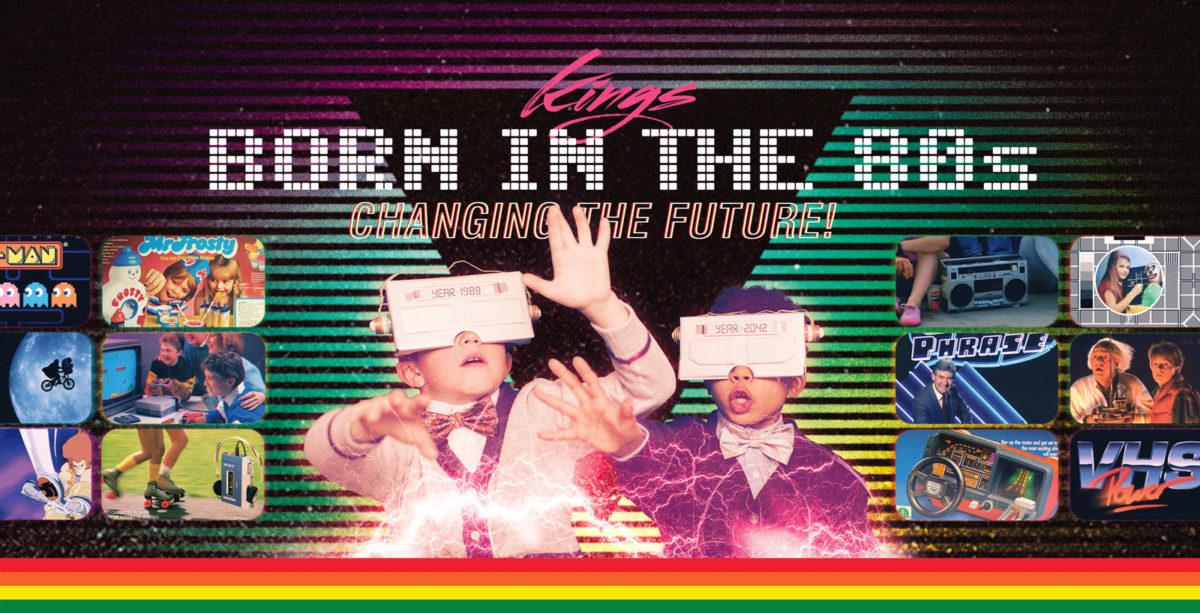 Born in the 80s, changing the future!